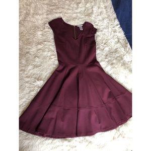 Burgandy Bar 111 Dress